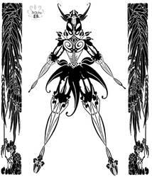 Female Junti Glatorian by Pearllight180
