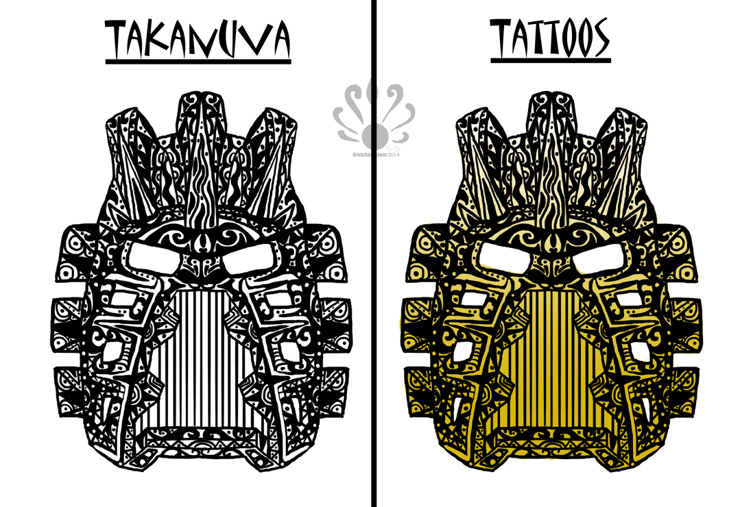 Tribal Takanuva Tattoo by Pearllight180