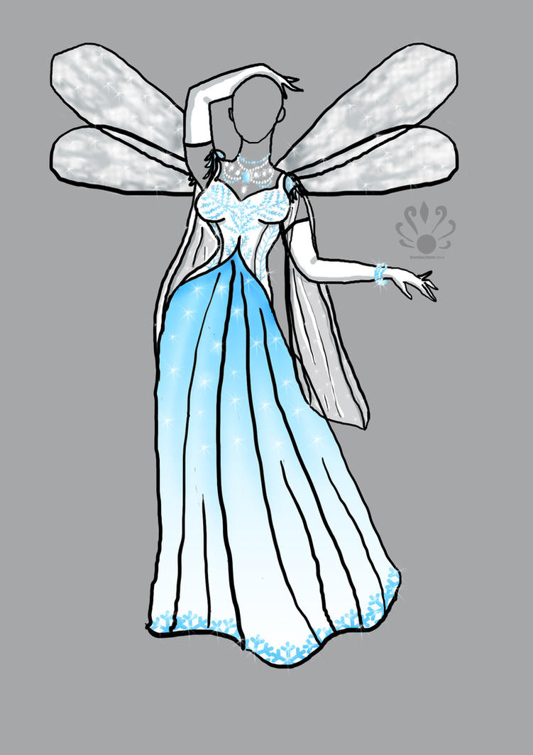 Sicline's Ice Fairy Gown by Pearllight180 on DeviantArt