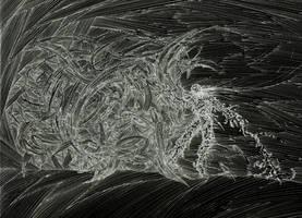 Chrone - La Horde du Contrevent - Fan Art 027 by twidoolwest