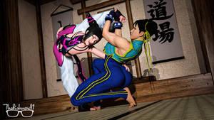Commission: Juri Han and Chun Li