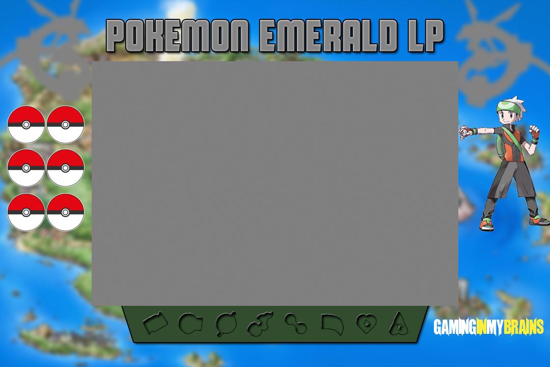 Gaminginmybrain S Pokemon Emerald Lp Border By Gaminggarchomp On Deviantart