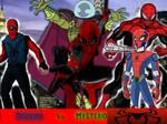 Spiders vs Mysterio!