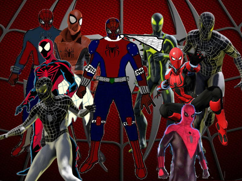 Unlimited Spider Man Suit Unstoppable spider-man costume Justice League Unlimited Cyborg