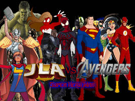 Super Hero War #1 by LightspeedPhoenix