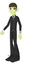 Earth 60811 Agent Bendy Coulson aka The Vision! by LightspeedPhoenix