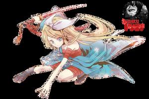 Kagamine Rin render by ShinkuNekita