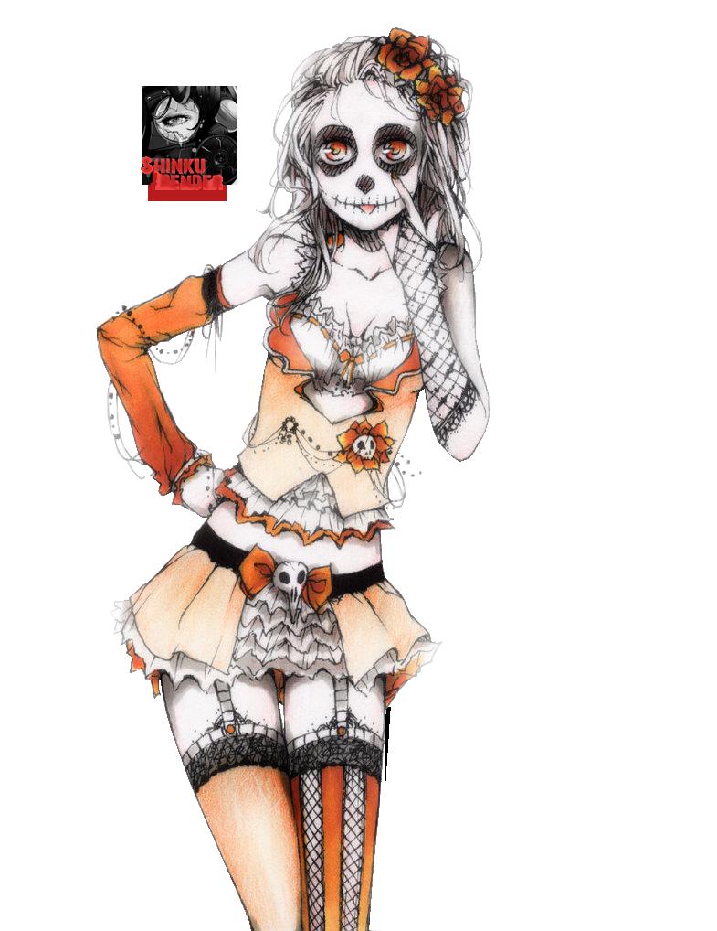 Partage de Renders! Halloween_render_by_shinkunekita-d6rv8tf