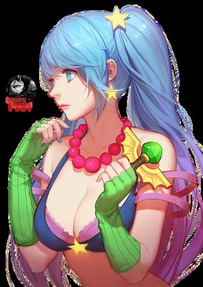 Renders Mangas Divers  Sona_arcade_render_by_shinkunekita-d70sv57