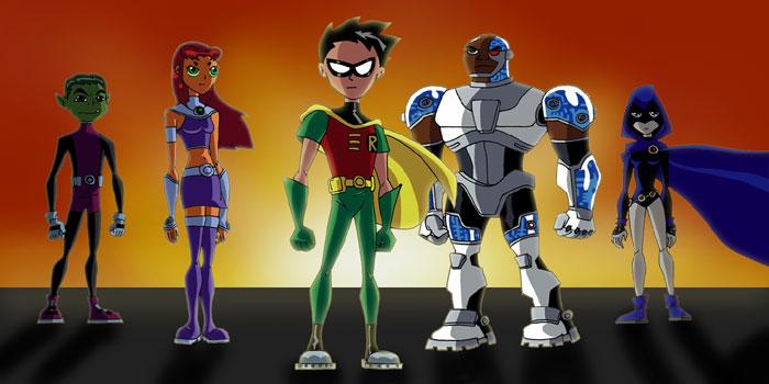 Teen Titans Color by HauntedRobin