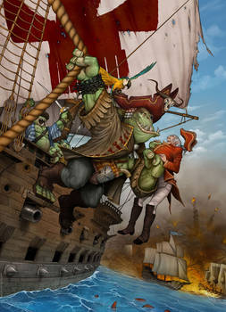 Piraterie Orc
