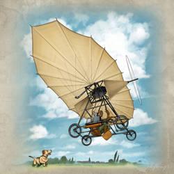 The Flying Machine of Vuia