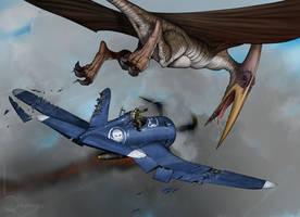 Corsair vs Pterausorus