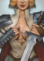 Warrior 1 by Viviengros