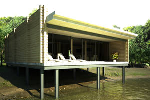 Summer house. WIP. by Geckly