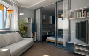Small flat 002 by Geckly