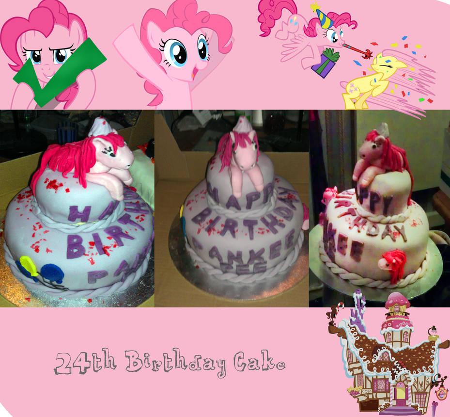 Pinkie Pie Birthday Cake By GCSummers