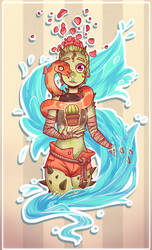 WetCacti (Art Trade) by AJ-H