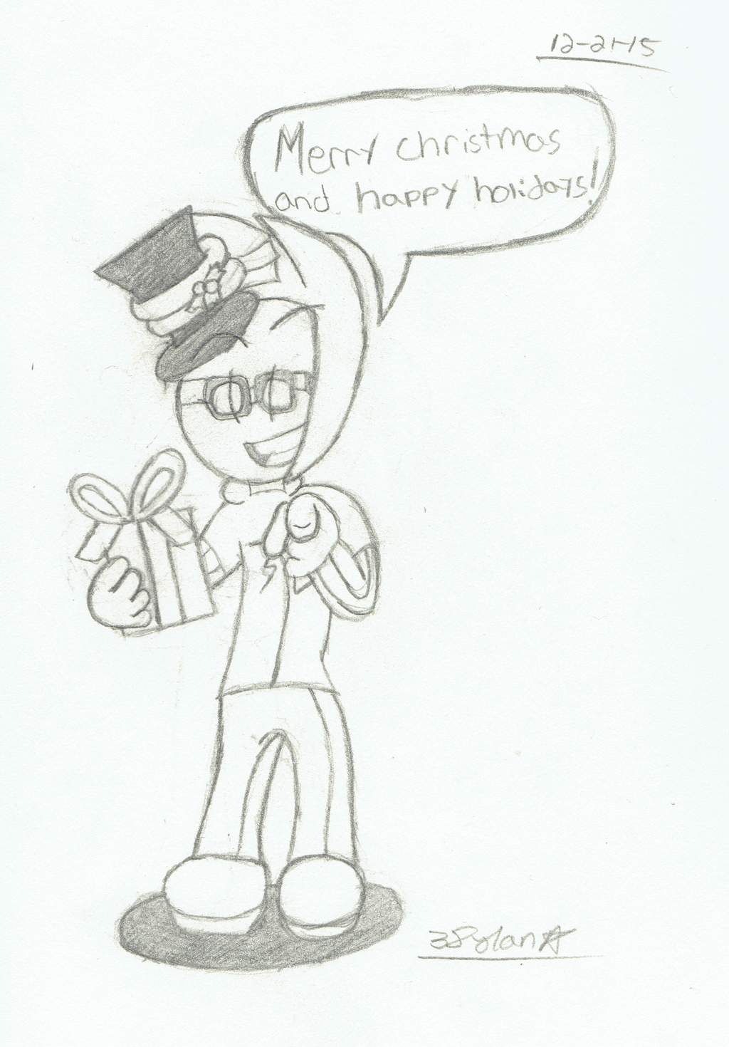Merry Christmas and Happy Holidays by 3DylanStar on DeviantArt