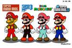 Four Mario Styles