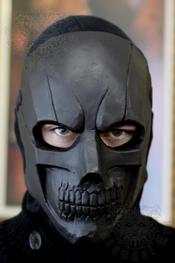 Les rappels sur le masque noir pour la personne dejvon