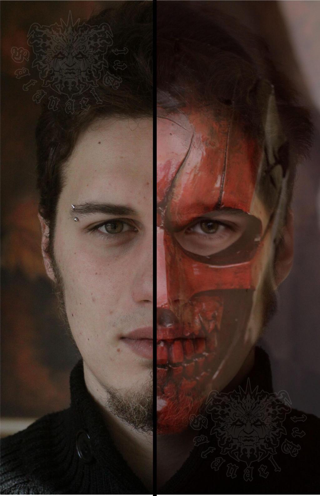 Evil wears many faces by SatanaelArt