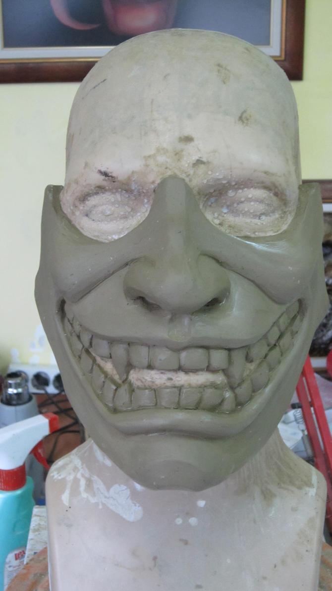 Samurai Mask by SatanaelArt