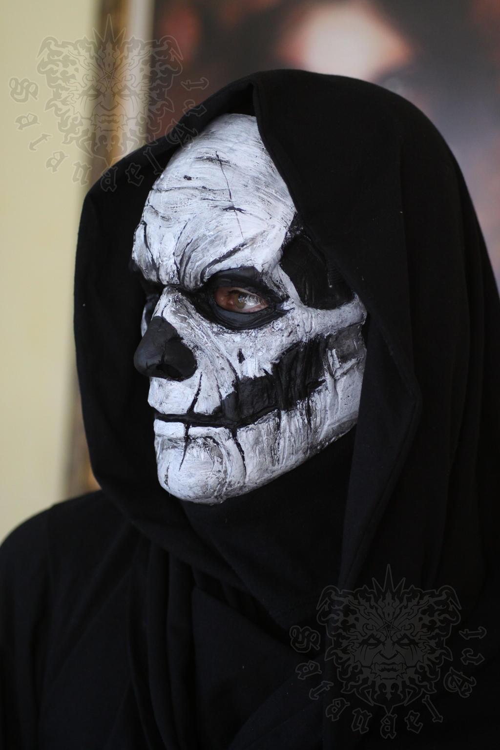 Voodoo Skull by SatanaelArt