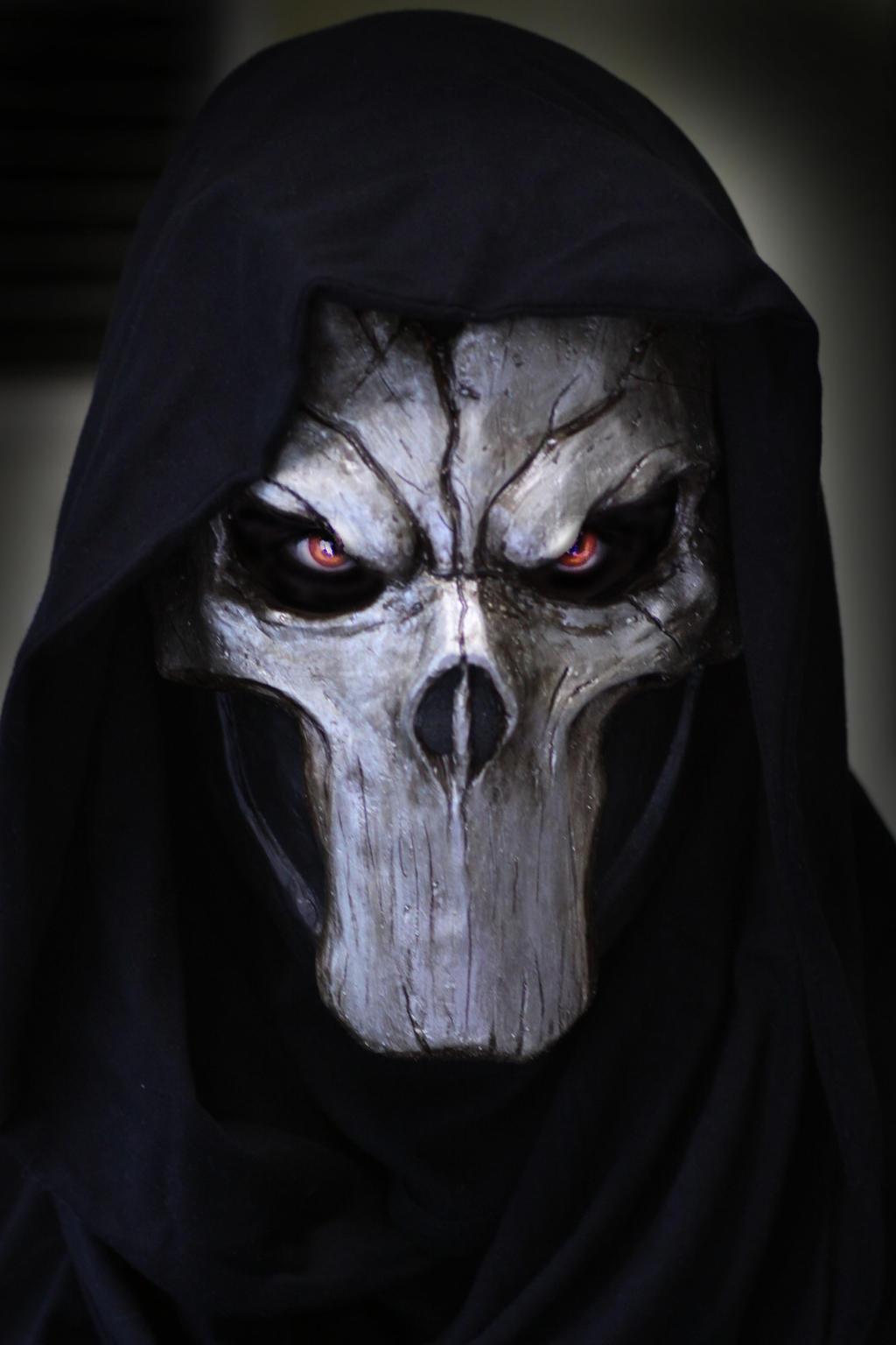 Death mask by Psychopat6666