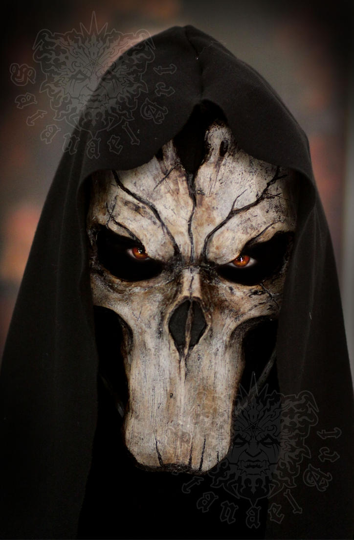 Death Darksiders Mask Death by Psychopat6666...