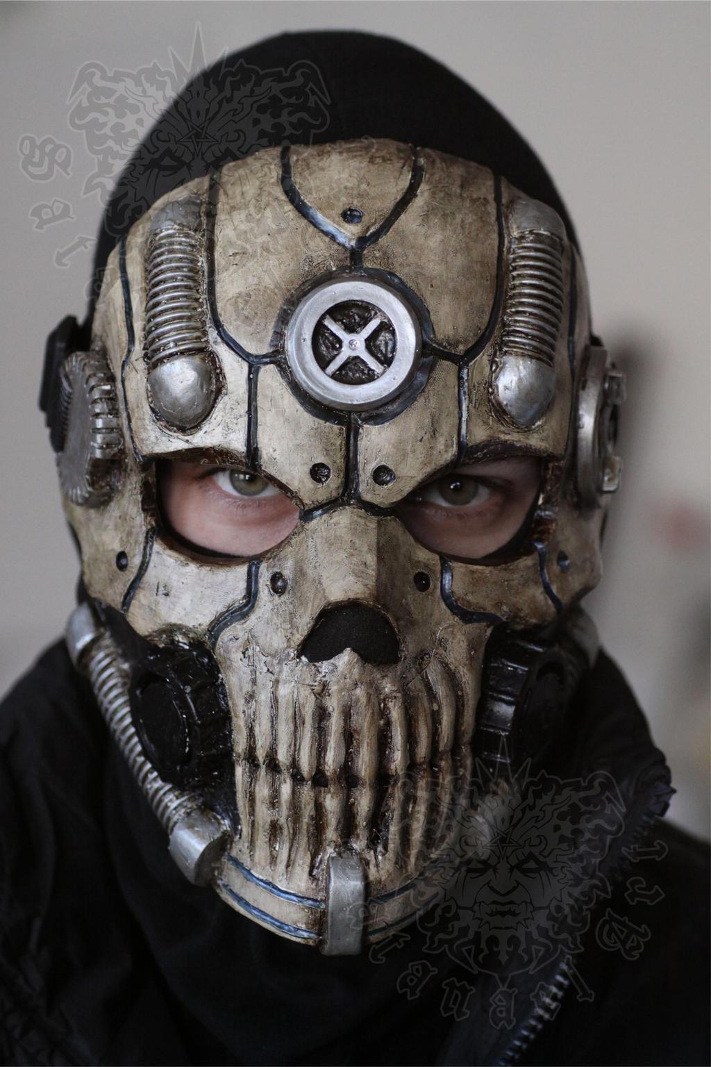Biomechanical Skull by SatanaelArt