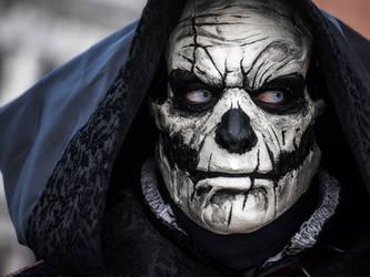 Voodoo Skull mask by SatanaelArt