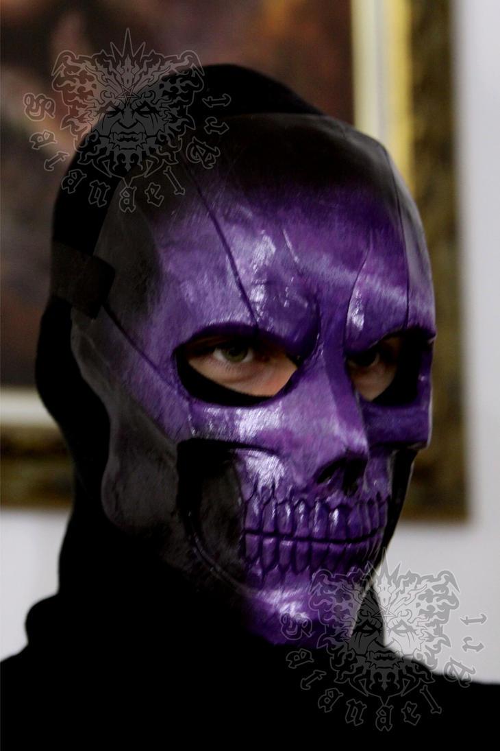 Amethyst Skull by SatanaelArt