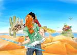 Luffy x Nami :: Art Trade - Stromer