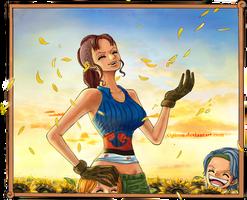 One Piece - Bluetenregen by Opirou