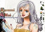 One Piece OC Mai Mirror - Colour