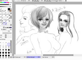 WIP Own style Practise by Opirou