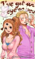 Sanji x Pudding