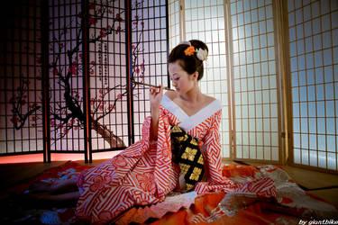 Geisha - 4 by Mi-kako