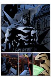 Batman by Dustin Nguyen by jakekless