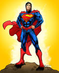New 52 Superman Colors! by jakekless