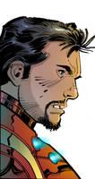 Iron Man Colors by jakekless