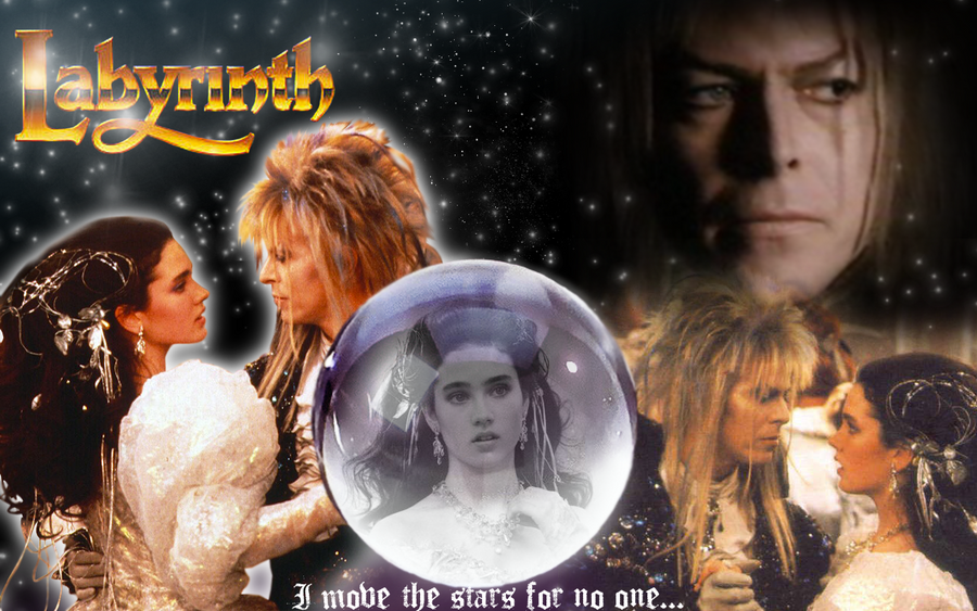 Labyrinth David Bowie Wallpaper Labyrinth wallpaper by Labyrinth 1986 Sarah
