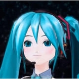 GIF Miku Unlimited Sky 3D by LuckyXClover