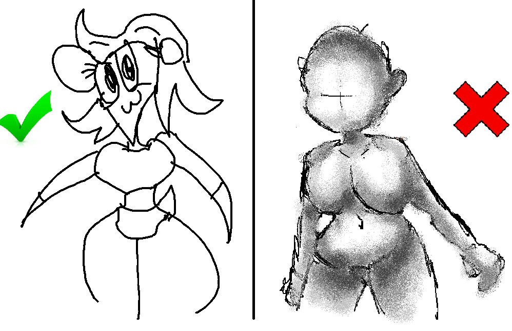 How 2 Draw Female Anatomy Th Right Way By Cloudiathebluedog On