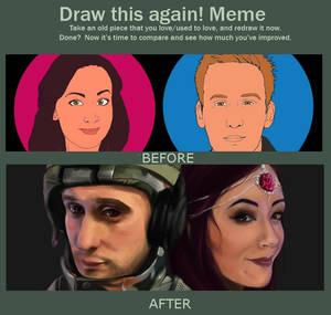 Draw this again! Meme - Youtube Banner 2013-2014