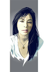 Vector Self-Portrait by meh-anne