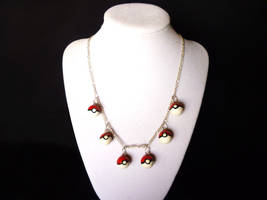 Pokeball Party Necklace
