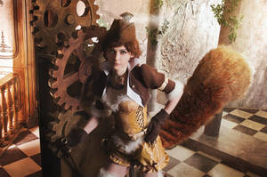 Squirrel Girl steampunk ver by NellMcGooffin