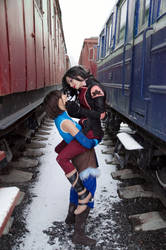 Avatar: Korra and Asami